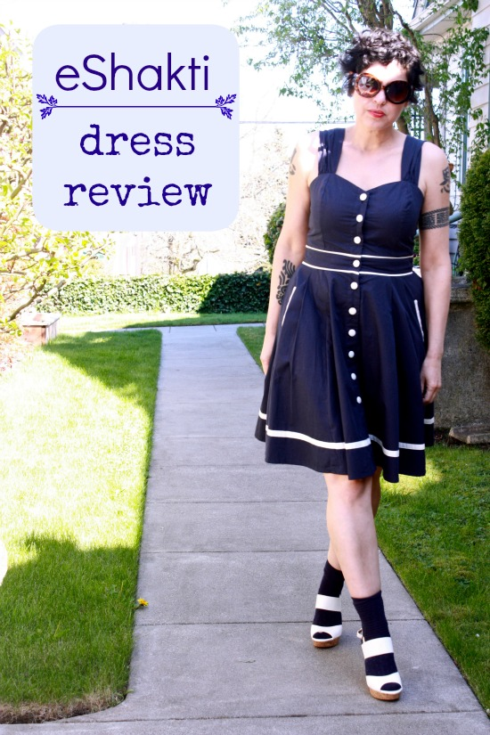 e-Shakti Dress Review: Nautical Ought-ical