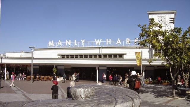 Terminal des ferries à Manly - Sydney