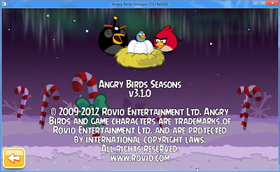 Angry Birds Seasons 3.1.0 Terbaru Full Version