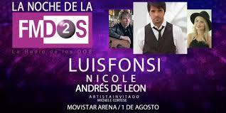 La Noche de la FMDOS en Movistar Arena 2015 en Chile entradas baratas hasta adelante