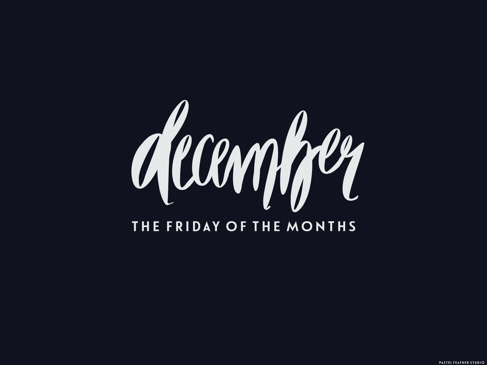 free december wallpaper for pc | p△stel feather studio