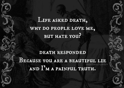 Life and Death Quotes