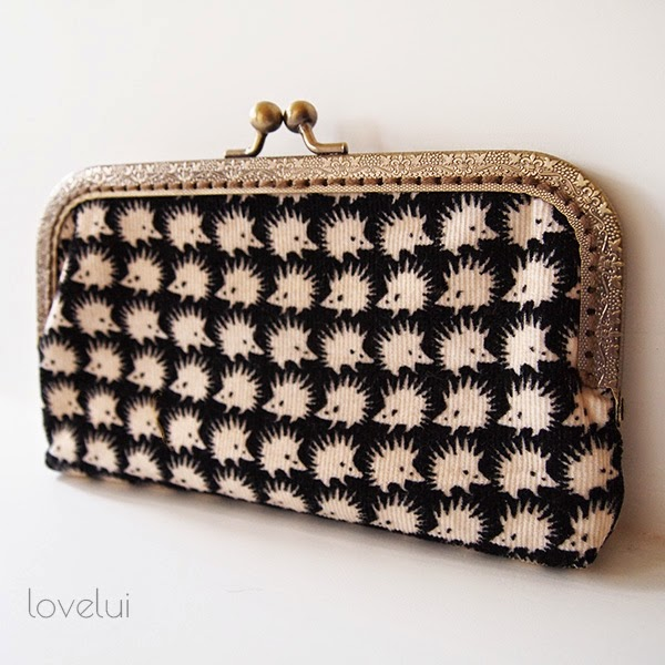hedgehog purse lovelui