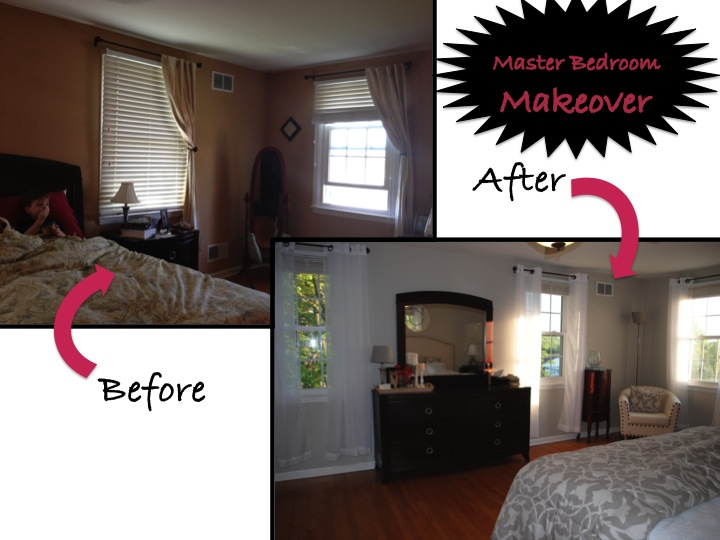 New Mama\'s Corner: Master Bedroom Makeover REVEAL: From drab to ...