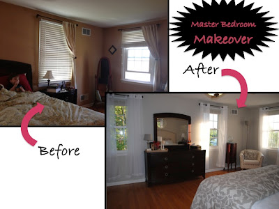 New Mama 39 S Corner Master Bedroom Makeover Reveal From Drab To Fab On A Budget