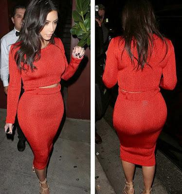 Kim Kardashian big butt funny