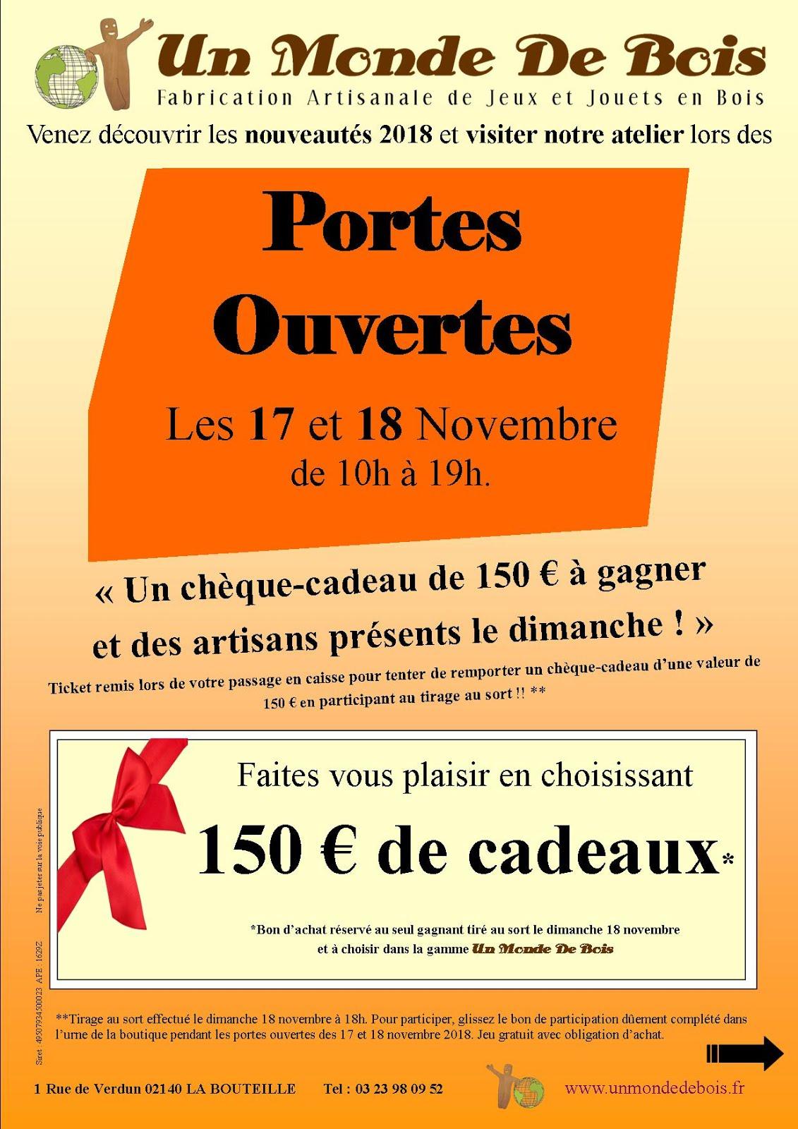 Portes ouvertes chez Sébastien Morlain à La Bouteille le 18 novembre 2018 !