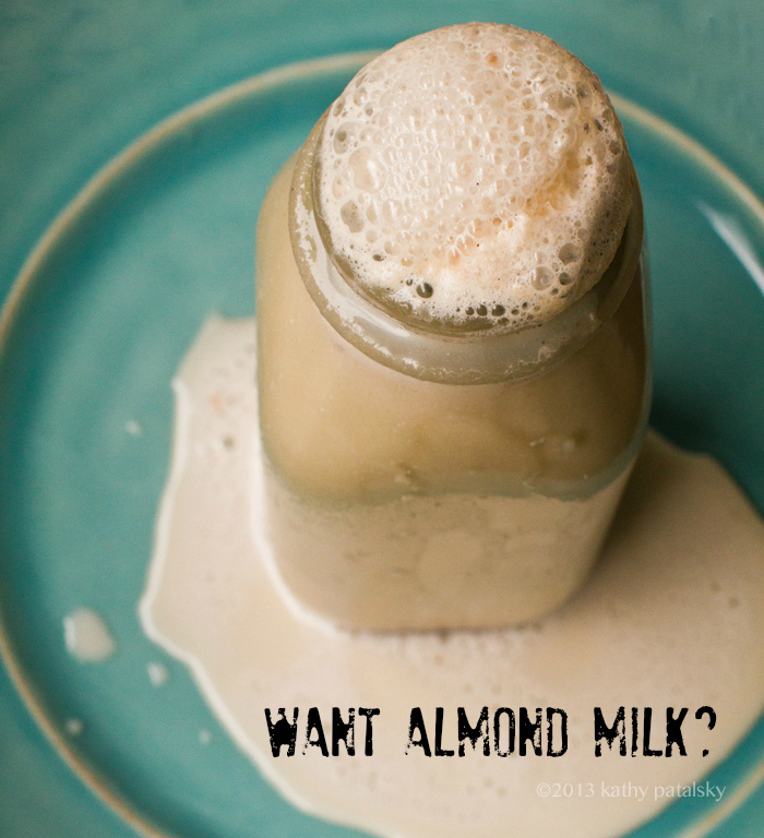 Fast Easy Almond Milk - Classic