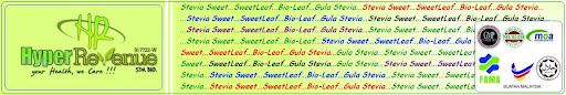stevia sweet, bio-leaf, sweetleaf, gula stevia