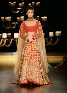Alia Bhat and Aditya Rao kapoor walk the ramp for Manish Malra at India Couture Week  (9).jpg