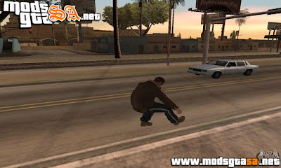 SA - Animações do GTA IV
