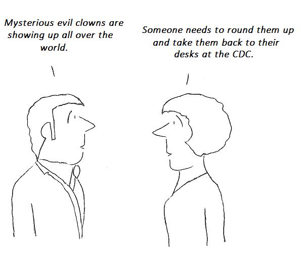cartoon, hhv-6, clowns, cdc, nih, science