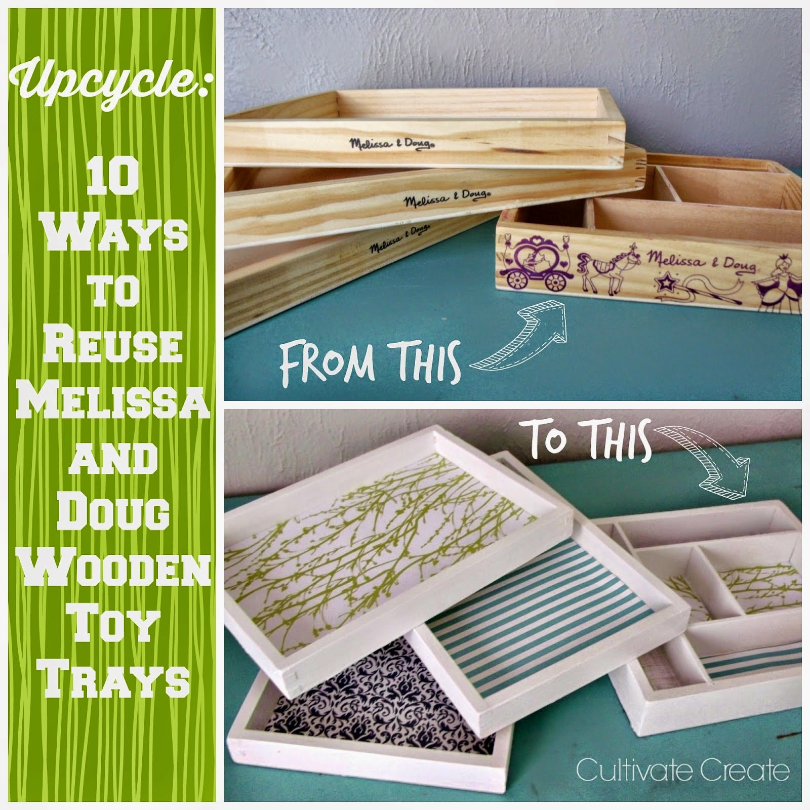 Upcycle: Wooden Trays