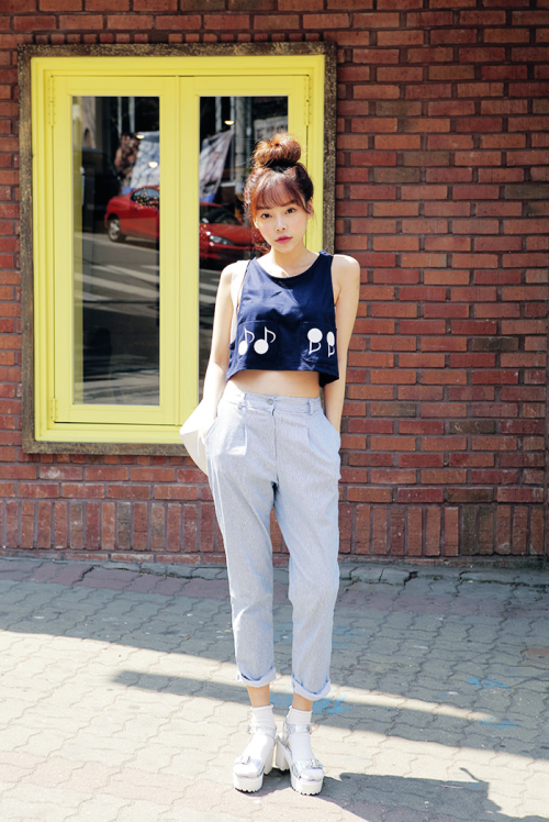 Korean Street Fashion Style For Summer Images Galleries With A Bite