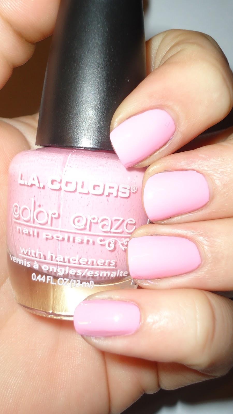 BreezyTheNailPolishLover: LA Colors Review Part 1