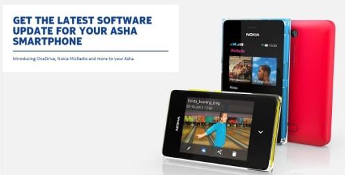 Nuovo aggiornamento con radio Mix e fotocamera per i Nokia Asha