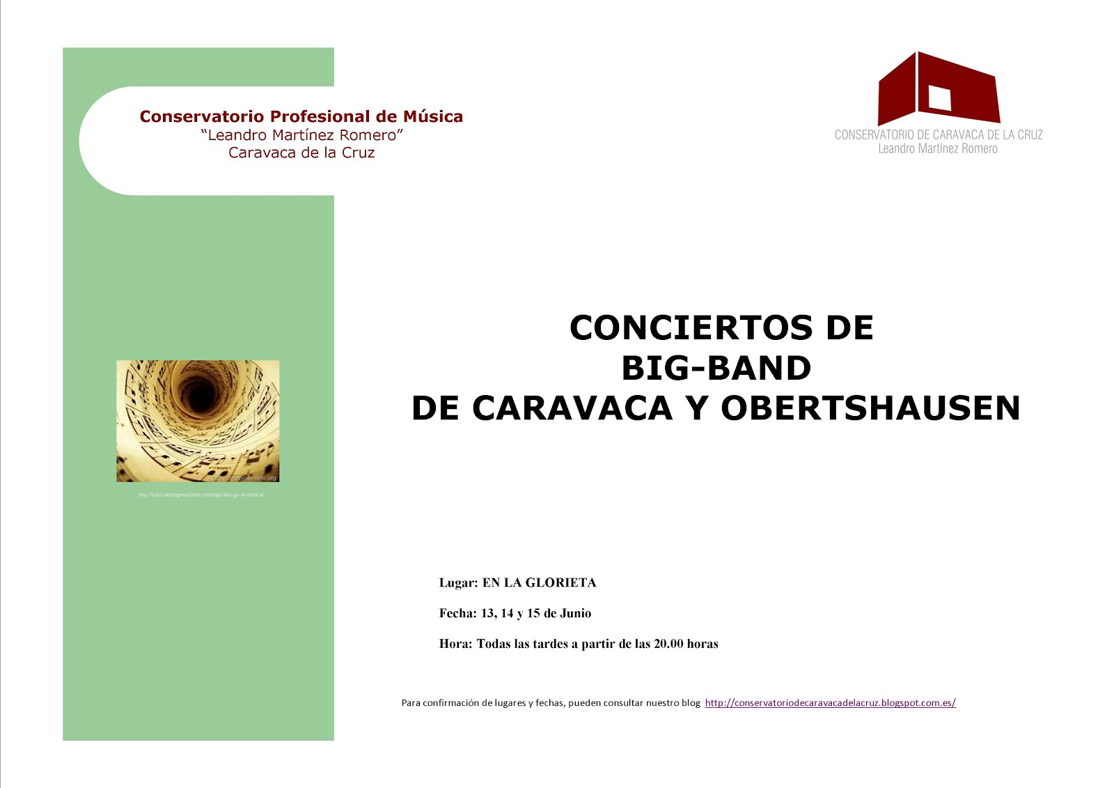 Conservatorio de m sica caravaca de la cruz for Conservatorio de musica