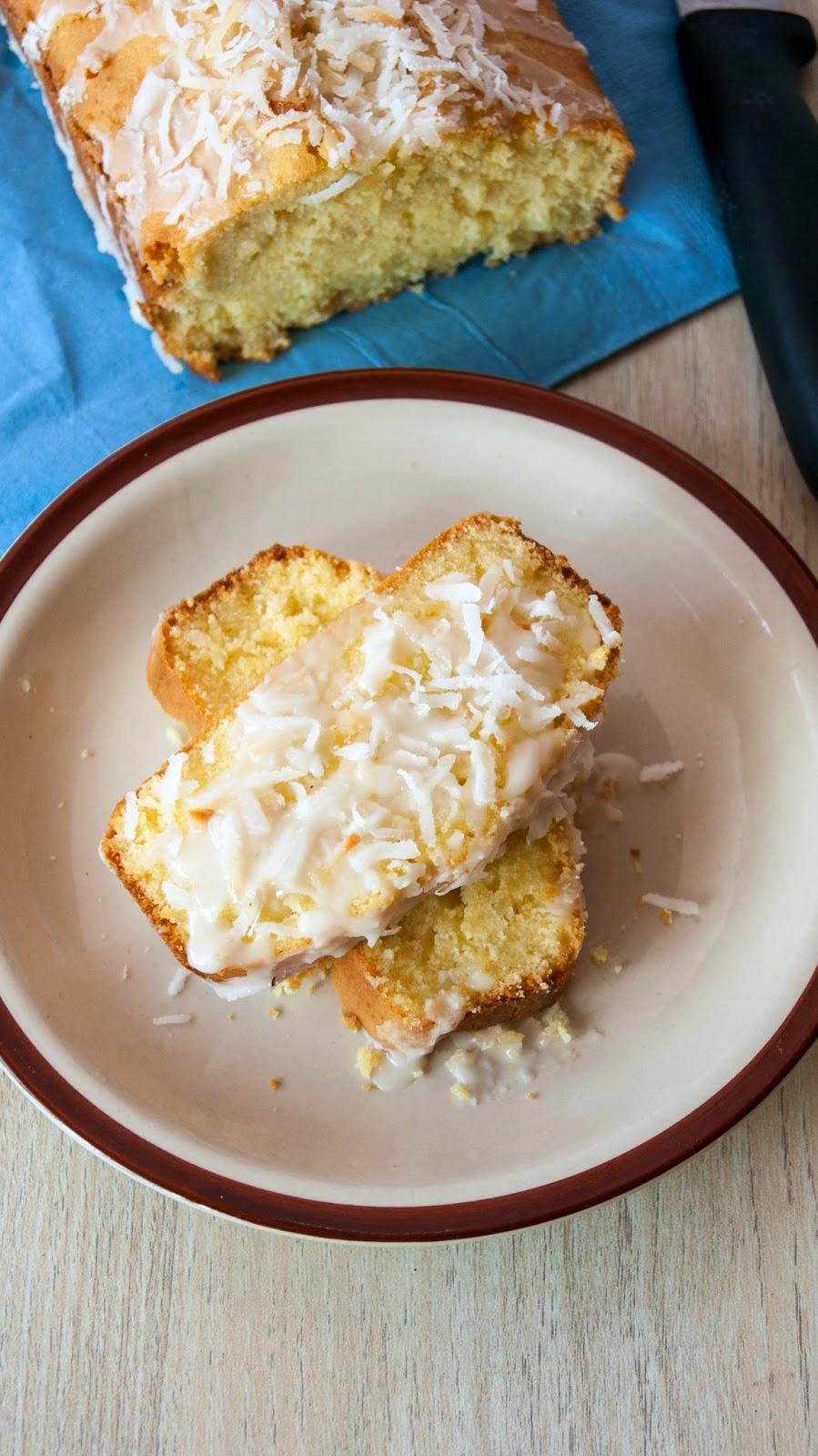 Buttermilk Tea Cake Recipe With Glaze Icing