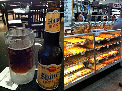 Southernspoon blog: Shiner Bock beer and Czech Stop kolaches