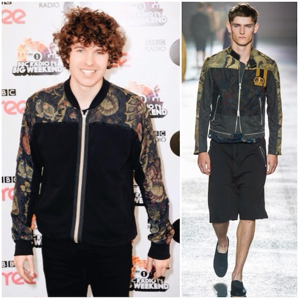 Luke Pritchard from The Kooks in Dries Van Noten - Radio 1 Big Weekend