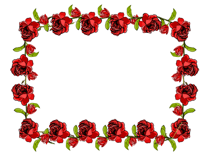 free faux vintage flower frame png – Vintage Rosenrahmen ...