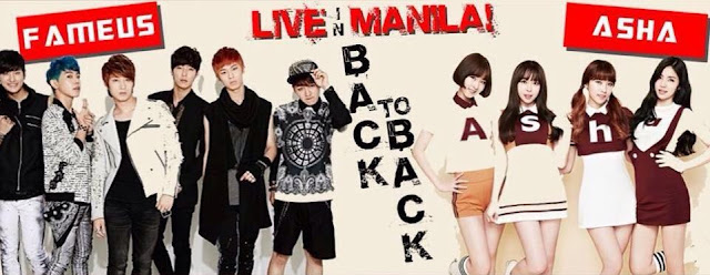 KPOP Korean Group Sensation FameUs and Asha LIVE in Manila and Davao