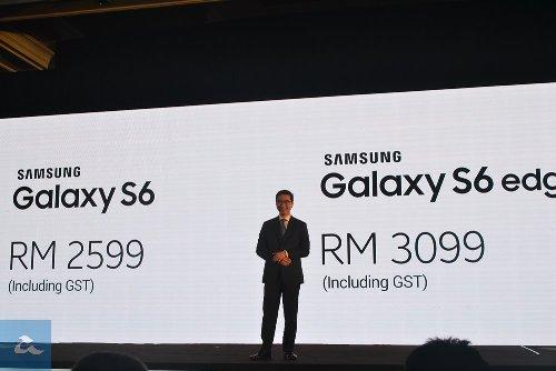 Harga Samsung Galaxy S6 Di Malaysia termasuk GST