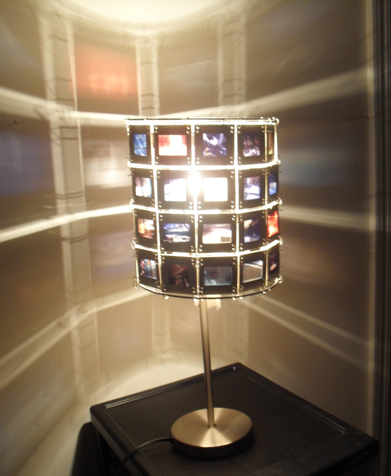 Cosmic designs 35mm slides lamp shade cosmic designs mozeypictures Choice Image