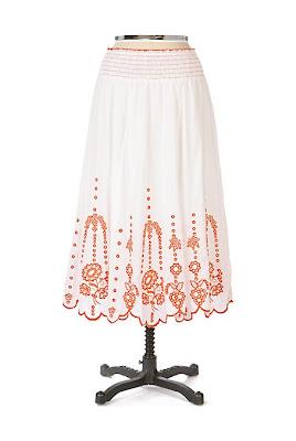 Anthropologie Clytie Skirt