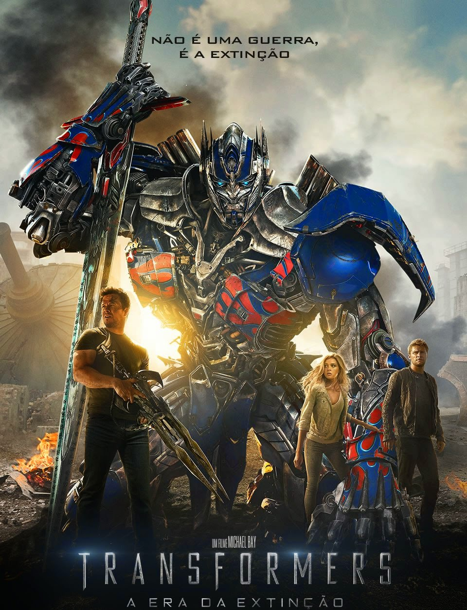 Transformers 4: A Era da Extinção (2014) BRrip Blu-Ray 1080p Download Torrent Dublado