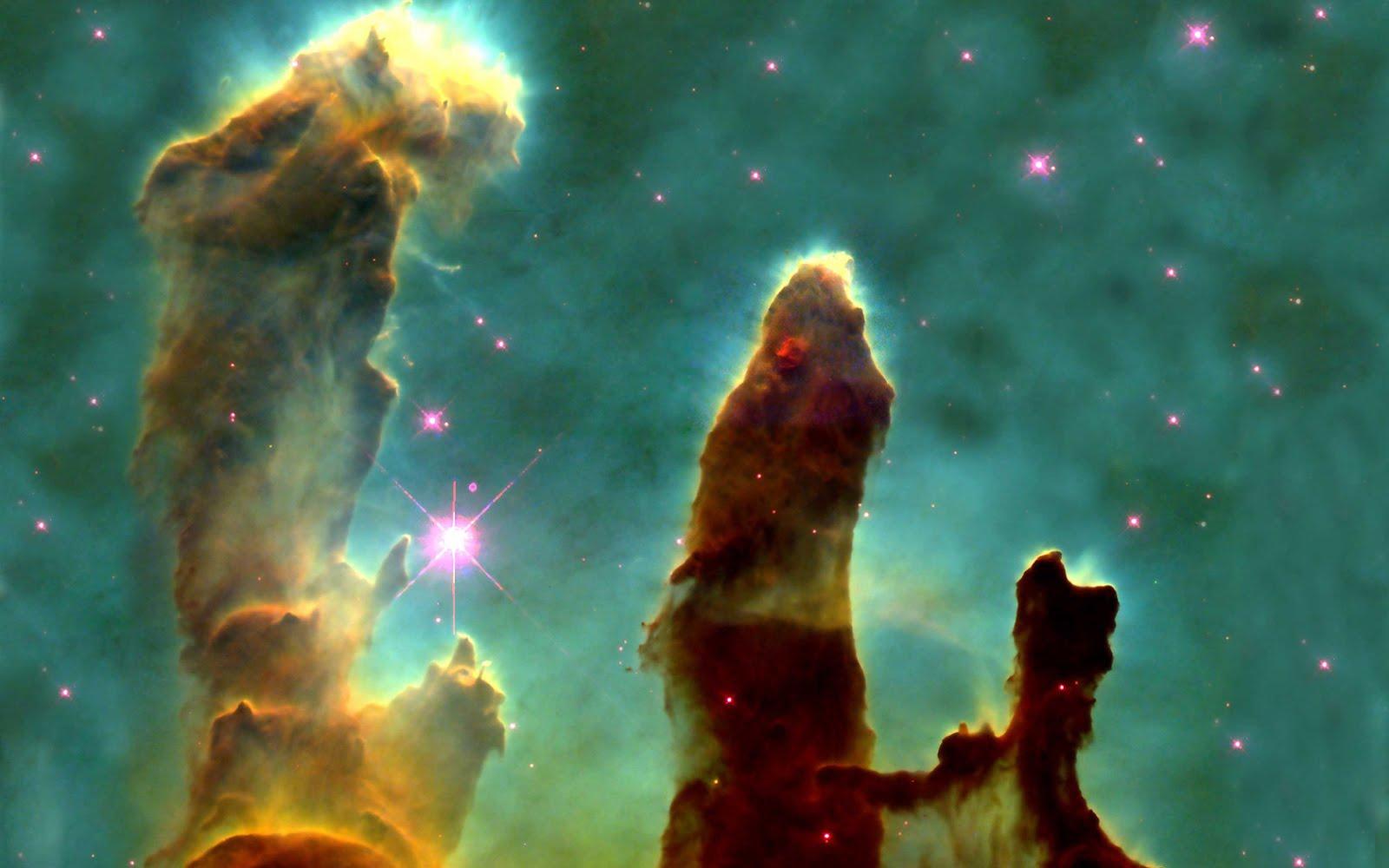 Hd Wallpapers For Desktop Beautiful Eagle Nebula Pillars