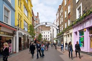 Carnaby Street at Christmas, London