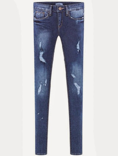 http://www.sheinside.com/Blue-Pockets-Ripped-Bleached-Slim-Denim-Pant-p-175865-cat-1740.html?aff_id=2476