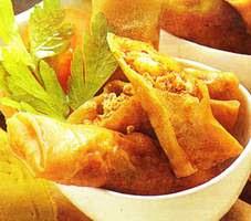 Resep Masakan Lumpia Tahu Pedas