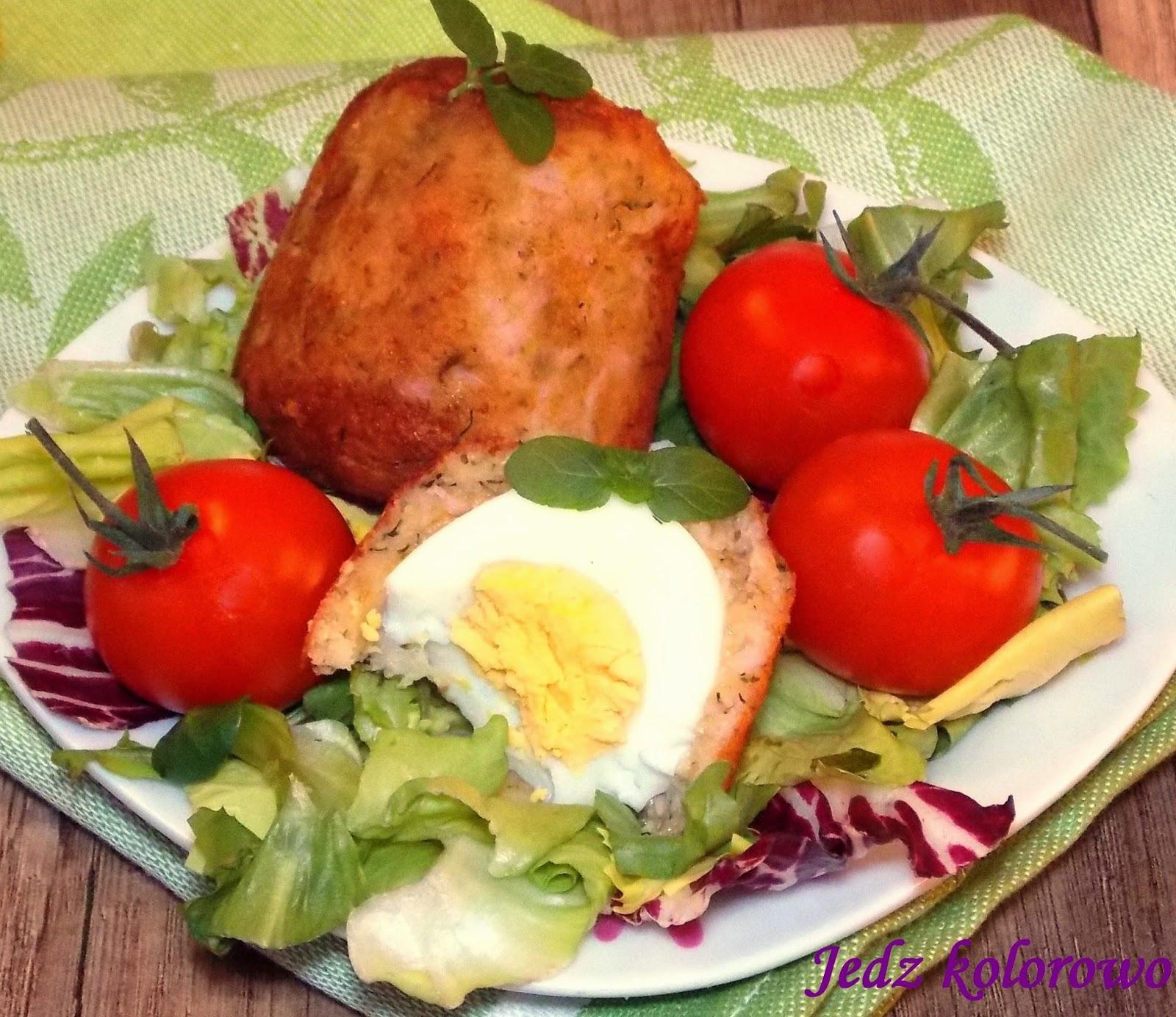 jajka w panierce