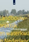 cover Landbouwpraktijk en waterkwaliteit in Nederland, periode 1992-2010