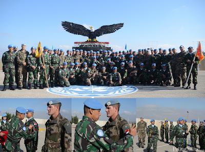 Batalyon Perancis Akui Indobatt Sebagai Kontingen Tangguh di Lebanon