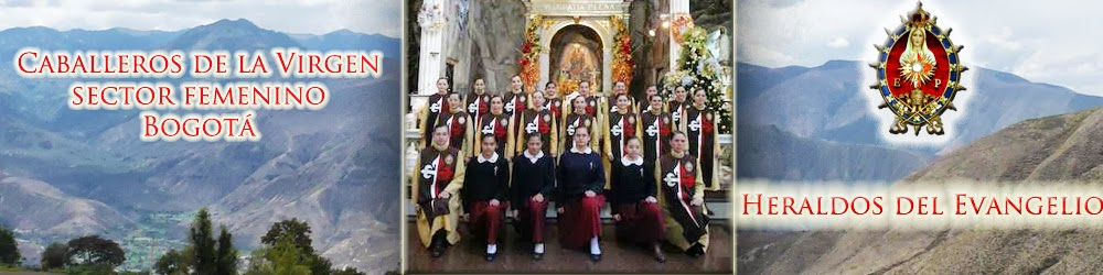 Heraldos del Evangelio sector femenino Bogotá