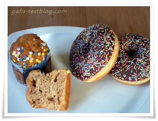 Simpsons Donats und Mini Cakes