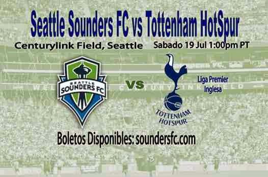 Seattle Sounders vs Tottenham Hotspur