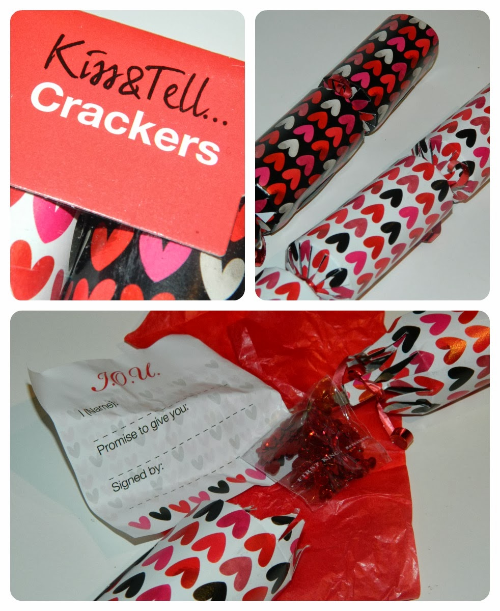 Home Bargains Valentine's Day Kiss and Tell Crackers