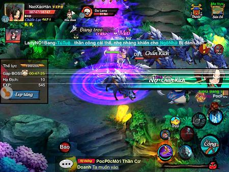 Game Lãng Khách ra mắt máy chủ S4_Lôi Kiếm