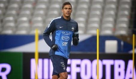 Louis van Gaal planning for Raphael Varane swoop