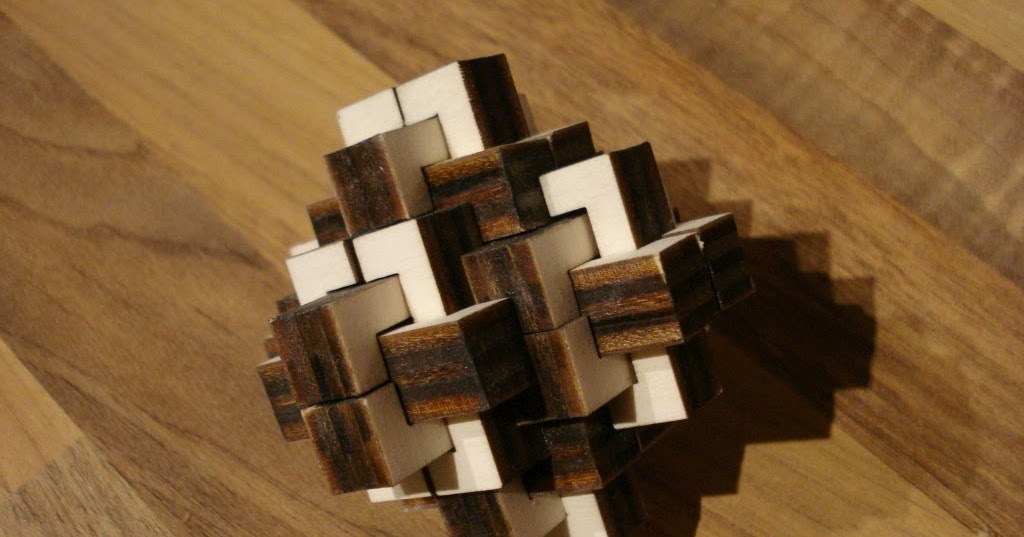 6 piece burr puzzle instructions
