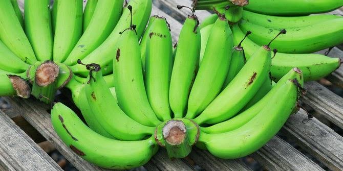 Makan tepung pisang hijau, cara enak turunkan berat badan