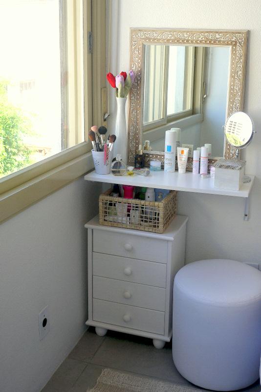 Dicas de pele por dra fernanda aguirre fa a voc mesmo for Small vanity table no mirror