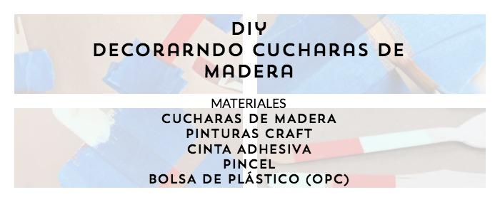 materiales para decorar cubiertos de madera