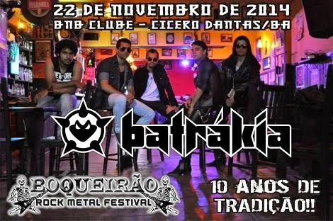 22-11-2014 - BATRÁKIA - Cícero Dantas - BA