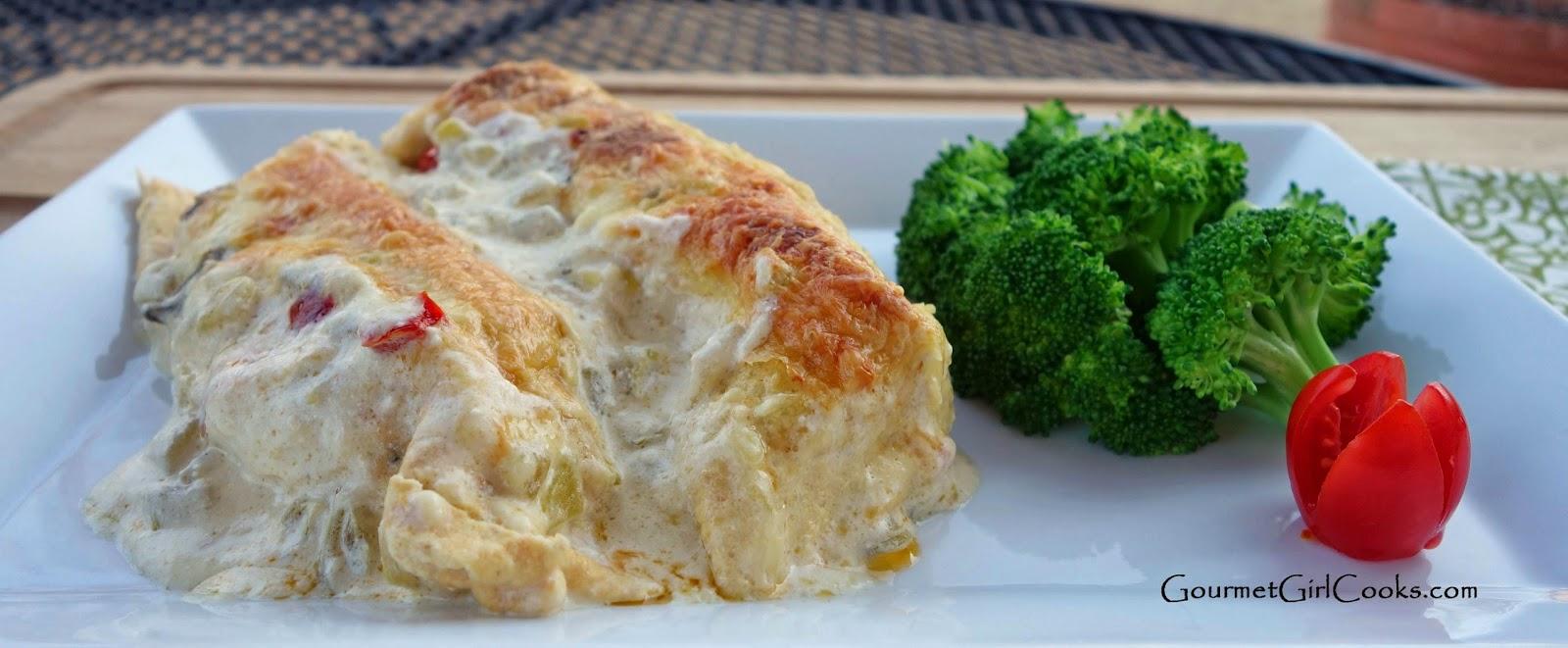 ... Chicken Enchilada Casserole -- Wheat/Grain-Free, Low Carb & Delicious