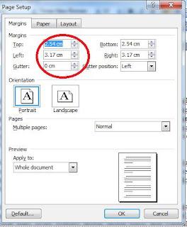 Cara di atas berlaku untuk ms word 2003, bagaimana dengan Microsoft ...